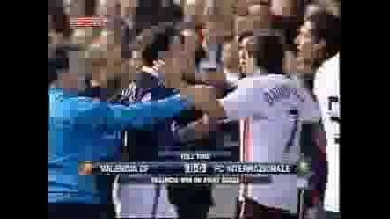 Inter Vs Valencia (Битките След Мача)