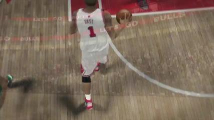 Nba 2k10 Derrick Rose Trailer Chicago Bulls