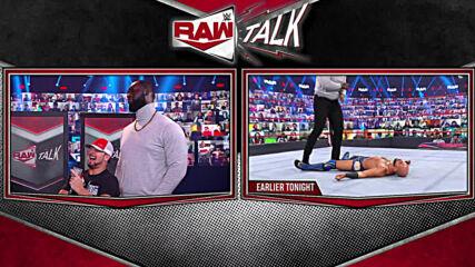 Omos nearly pummels R-Truth: Raw Talk, Feb. 22, 2021