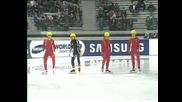 4th Short Track World Cupladies 500m Final