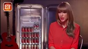 Taylor Swift Behind the Scenes Diet Coke Ad
