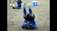 Левски тренира в шумен 2час. 24.09.2011
