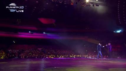 Илиян и Алекс - Единствена ( Live ) 12 Годишни Музикални Награди - Planeta Hd