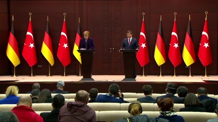 Turkey: Merkel condemns Russian actions in Syria
