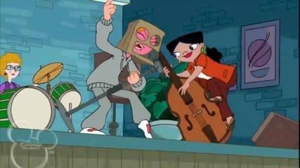 Финиъс и Фърб- Кендис пее Evil Boys/ Лоши момчета/