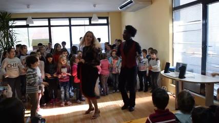 Европейските шампиони по латино танци Aлфредо Торес и Жоржета Илиева на гости в Еспа