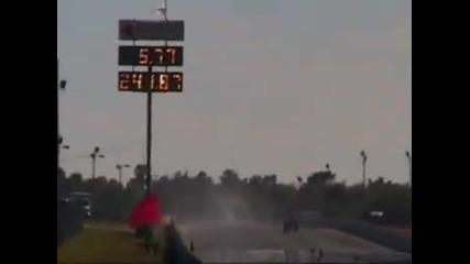 Рекорд! - 388 км/ч (241.87 м/ч)за 5.77 от Драгстери (party Time Racing) - Ase/ironman Chassis