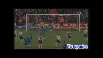 04.01.09. Манчестър Юнайтед 3:0 Саутхемптън-Нани Гол