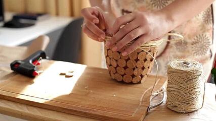 Creative pots: Corkscrew inspo