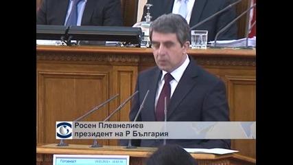 Президентът предложи референдум за изборното законодателство заедно с местните избори