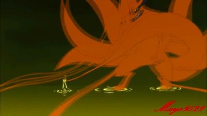 Naruto Shippuuden Amv - Naruto Vs Kyuubi 'new Form'