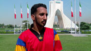 Meet Ahmad the Iranian disabled freestyle footballer and Paralympian hopeful
