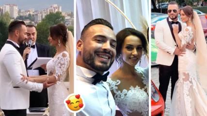 Семейство Кирилови е факт! Джулия и Кристиан се взеха на романтична сватба