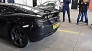 Mclaren Mp4-12c w- Akrapovic-exhaust Shooting Flames
