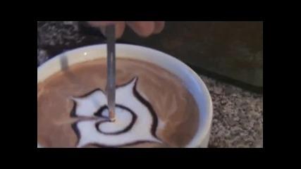 Изкуството да рисуваш на кафе