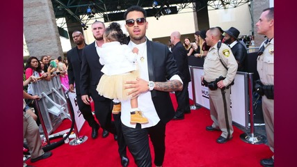 Chris Brown Childproofs His Tour Bus for Royalty