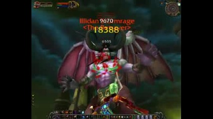 Донатор Rogue Убива Сам Illidan Stormrage