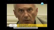 Волен Сидеров избяга от интервю, след неудобни въпроси на Мария Цънцарова!