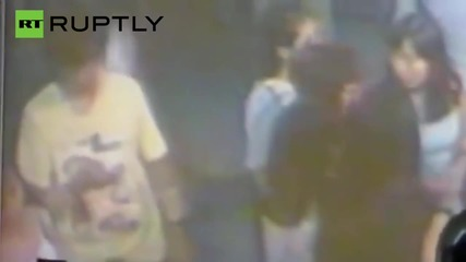 CCTV Catches Suspect Leave Backpack at Thailand Bombing Site