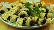 Шишчета с гевречета и маслини