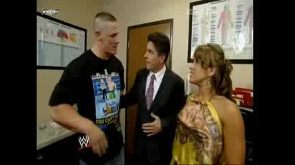 Mickie James And John Cena One Night Stand