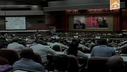 Cuba: Fidel Castro delivers rare speech at Communist Party congress