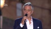 Andrea Bocelli - Love in Portofino-част 1/5 концерт (2012)
