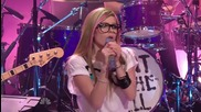 Avril Lavigne - What The Hell - The Tonight Show Jay Leno