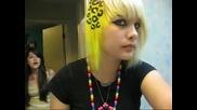 how to do cheetah _ lepard print hair
