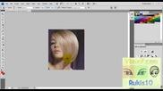 Фотошоп - урок 3 Как се добавя коса Photoshop - urok 3 Kak se dobavq kosa
