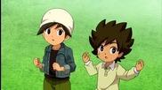 { Bg Sub } Inazuma Eleven Go Galaxy Епизод 02