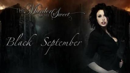 The Murder Of My Sweet - Black September (2012)