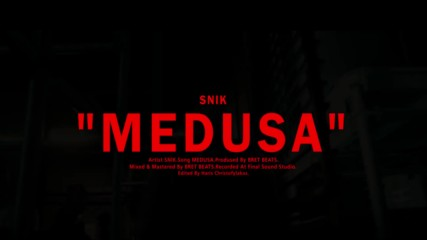 Гръцка премиера! Snik - Medusa ( Official Music Video )