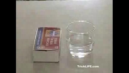 как да накараме вода да гори