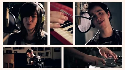 Sam Tsui & Christina Grimmie - Just A Dream ( Nelly - Just A Dream ) + Превод