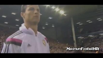 Кристиано Роналдо срещу Ливърпул [ Ливърпул - Реал Мадрид 0-3 ] 22.10.2014