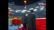 Церемония на сваляне на олимпийския флаг - Закриване на Олимпийските игри в Пекин 2008