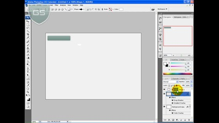 Photoshop - Направа на Web 2.0 Бутон