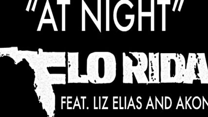 2o16! Flo Rida ft. Liz Elias and Akon - At Night ( Аудио )