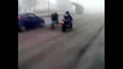 Scooter Vs. Moto Vs. Fiat Punto