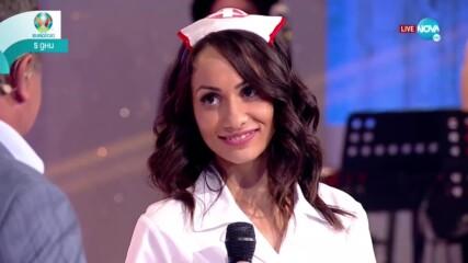 Анелия представя своя талант - Забраненото шоу на Рачков (06.06.2021)