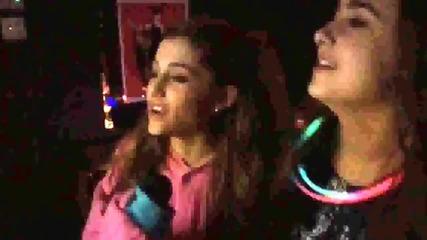 Ariana Grande, Alexa Luria and Frankie Grande singing Baby (hd)