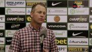 Моралес: Знаем, че не сме от чергата на Лудогорец и ЦСКА