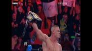 Победата на John Cena на Wwe Bragging Rights