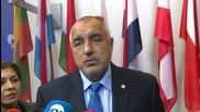 Борисов: Може да се либерализира визовия режим за Турция