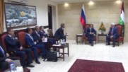 State of Palestine: Medvedev received by Abbas ahead of Jericho meeting
