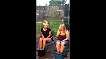 Vicky Nuttall - Dawn Walkers ice bucket challenge she.