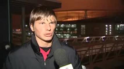 Андрей Аршавин Премина В Арсенал !!!