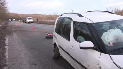 Четири катастрофи на пътя Казанлък-Стара Загора