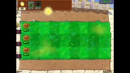 Plants vs Zombies Gameplay 1